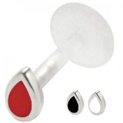 Piercing micro-labret PTFE 31 - Goutte