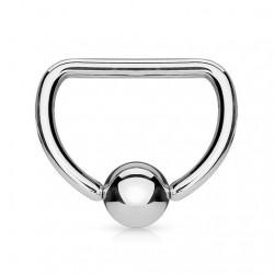 Piercing anneau 1,6mm 18 - Demi