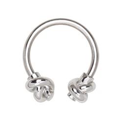 Piercing micro-circulaire 07 - Deux noeuds