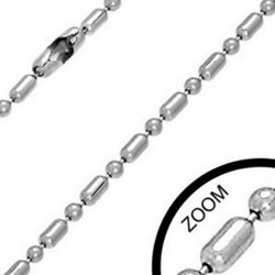 Chaine acier chirurgical F mailles 2.5mm
