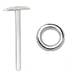 Piercing nez pliable 0.5mm 62 - Cercle