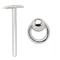 Piercing nez pliable 0.5mm 69 - Boule et esclave