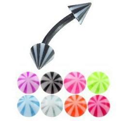 Piercing pour arcade acry 56 - Flexible Beach-pointes