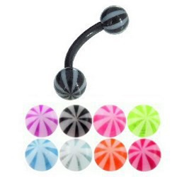 Piercing pour arcade acry 57 - Flexible beach-ball