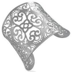 Bracelet jonc 18 - Large motifs orientaux