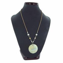 Collier nacre 06 - Cercle et perles