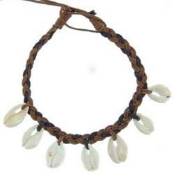 Bracelet surf 07 - Coquillages pendants