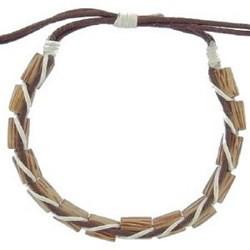 Bracelet surf 15 - Perles en bois