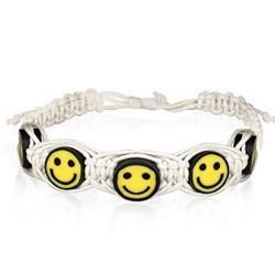 Bracelet surf 22 - Smiley