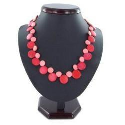 Collier surf fantaisie 23 - Ronds roses
