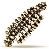 Faux Piercing oreille 36 - Colonne vertebrale cuivre