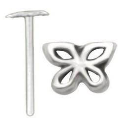 Piercing nez pliable 0.5mm 100 - Papillon creux