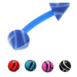 Piercing pour arcade acry 75 - Flexible volley-ball pointes