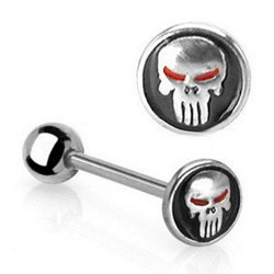 Piercing langue 68 - Punisher