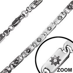 Chaine acier G mailles 5mm