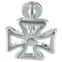 Piercing labret 23 - Croix