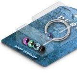 Pack de piercings anneaux 1,6mm 1 - Boules PVD