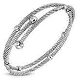 Bracelet cable 13 - Deux tours