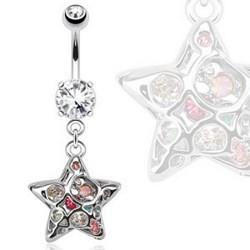 Piercing nombril étoile 28 - Imaginaire