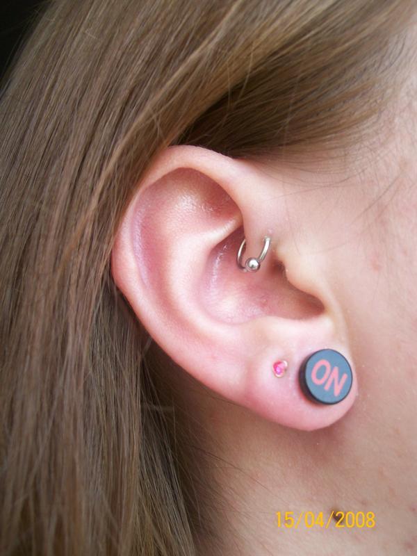 Piercing anti-hélix anneau C