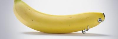 La banane coquine avec ces piercings