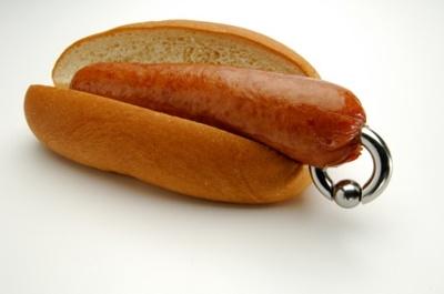 Le hot-dog prince albert sans sauce